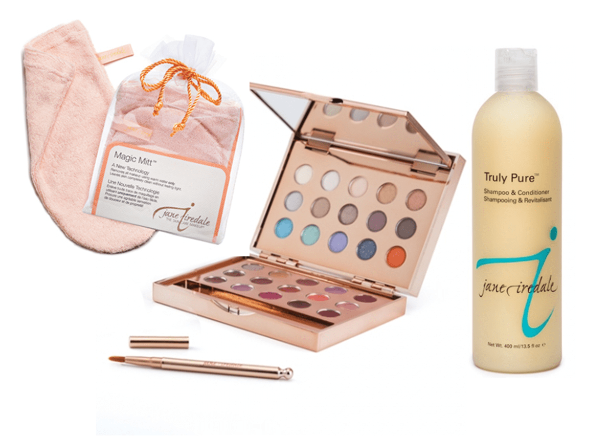 new year 2015 giveaway including magic mitt, shadow palette and shampoo conditioner