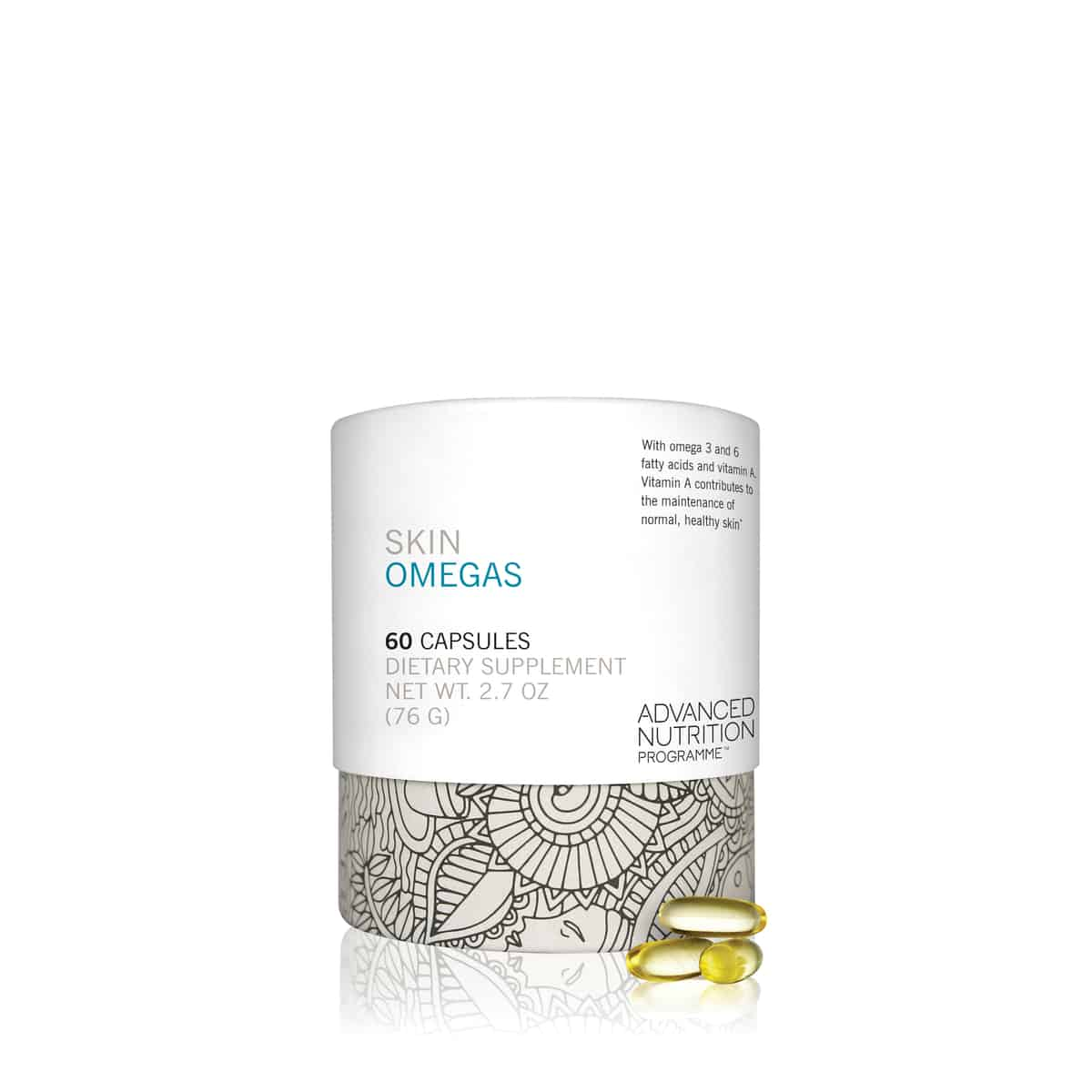 skin omegas skincare supplements