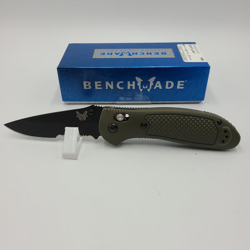 Benchmade (NIB)  Griptilian AXIS Lock Olive Drab Black Serrated 551SBKOD-S30V