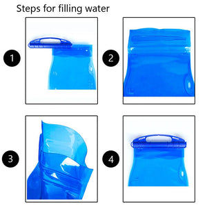 AquaPak™ - Reusable Portable Hydration Bag - theagame.co
