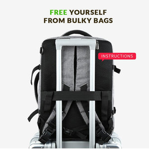 BagPak™ - 3 in 1: backpack, briefcase & shoulder bag - theagame.co