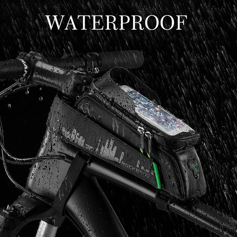 Waterproof cycling bag - theagame.co