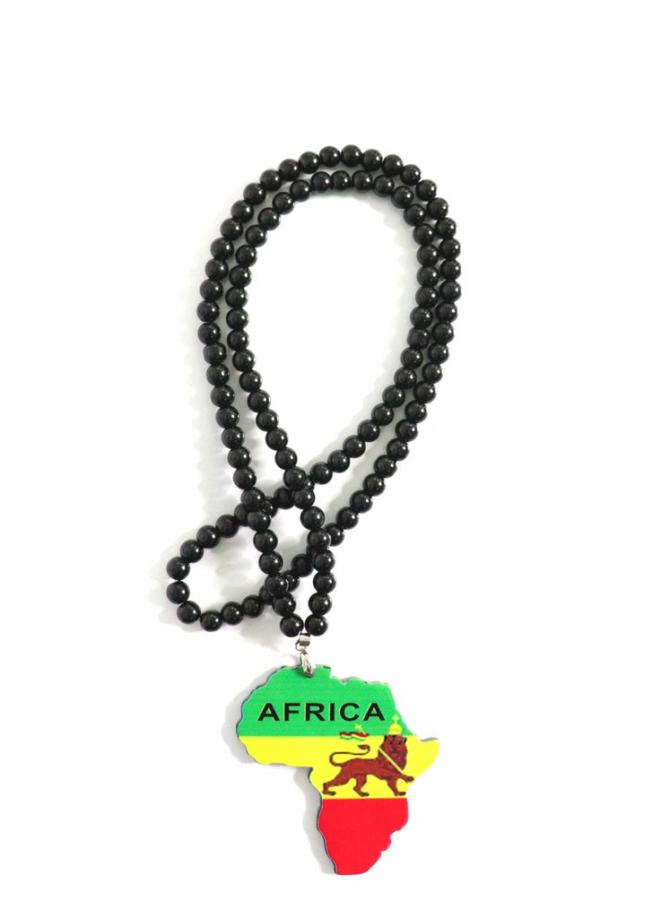 Africa Medallion Necklaces