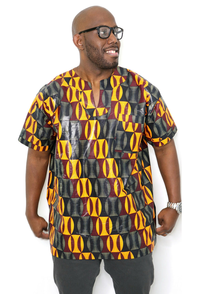 Dau Dashiki- Maroon Dream