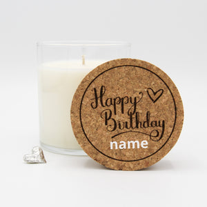Load image into Gallery viewer, Semi-Custom Happy Birthday Candle