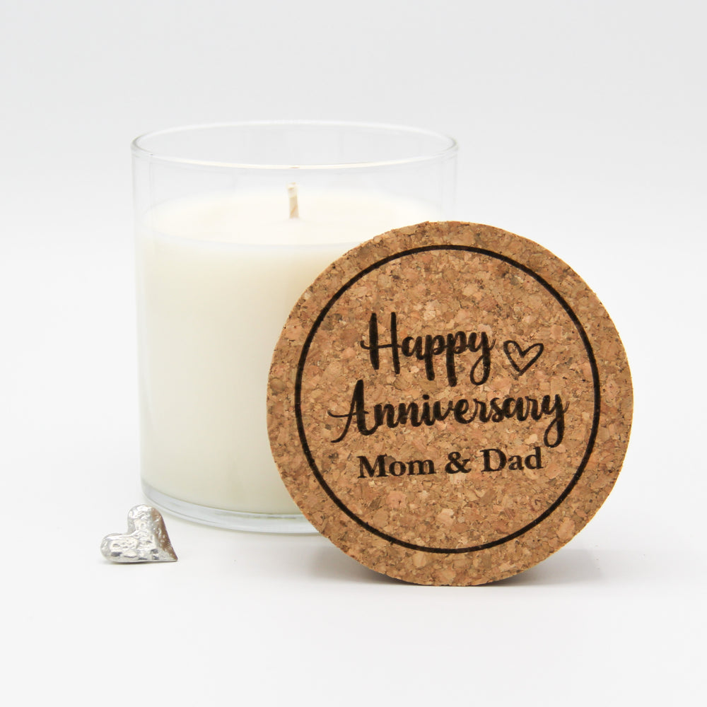 Semi-Custom Happy Anniversary Candle