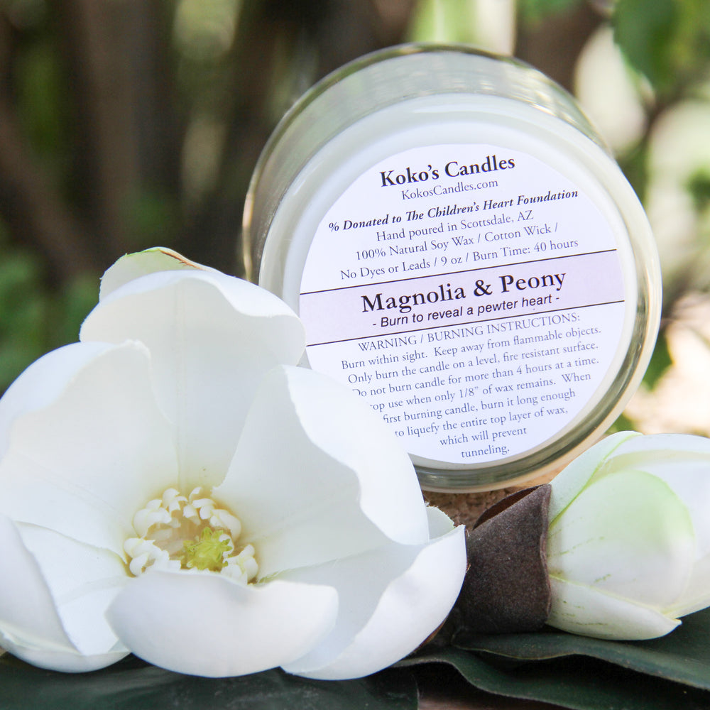 Load image into Gallery viewer, Magnolia & Peony Candle