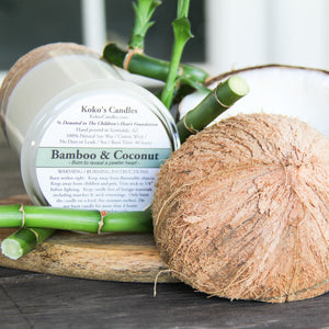 Load image into Gallery viewer, Bamboo & Coconut Candle