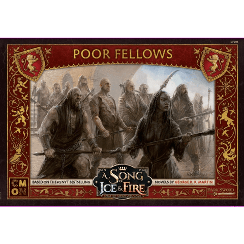 A Song of Ice & Fire Lannister Poor Fellows
