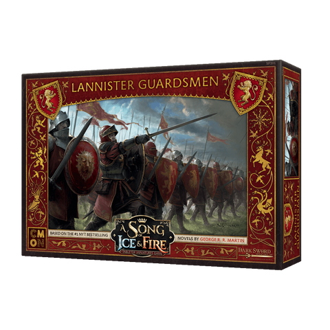 A Song of Ice & Fire Lannister Guardsmen