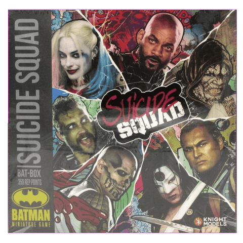 Batman Miniature Game: Suicide Squad Bat-Box