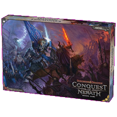 D&D Conquest of Nerath Board Game