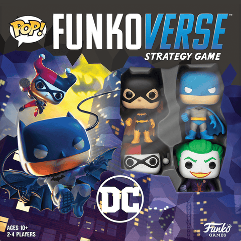 Funkoverse Strategy Game: DC Comics 4-Pack