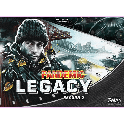 Pandemic Legacy: Season 2 (Black)