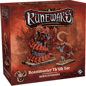 RuneWars Beastmaster Th'Uk Tar Hero Expansion