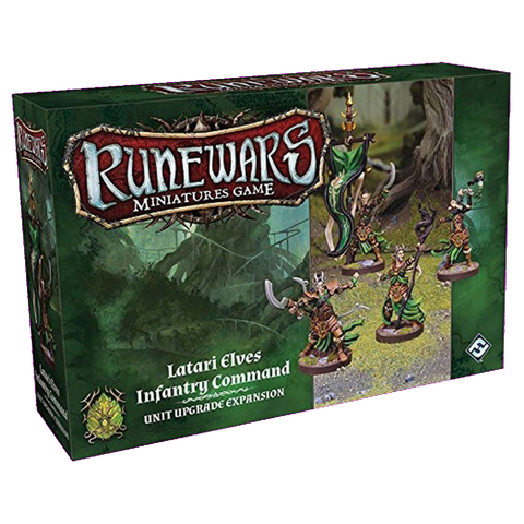 RuneWars Latari Elves Infantry Command Unit Upgrade Expansion