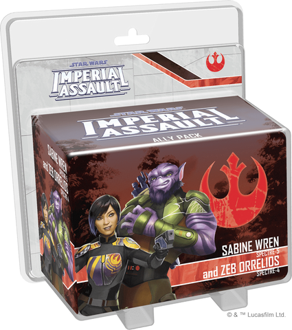 Star Wars: Imperial Assault Sabine Wren and Zeb Orrelios Ally Pack