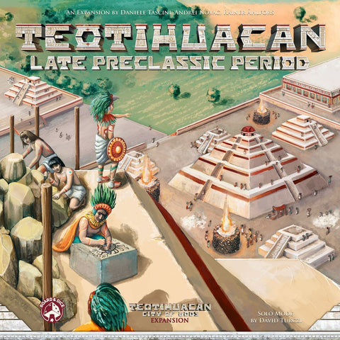 Teotihuacan: Late Preclassic Period (with taalpak)