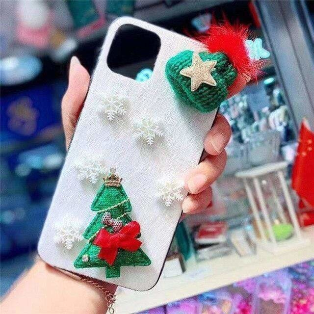 3DH CHRISTMAS MOOSE PHONE COVER CASE FOR IPHONE 12 PRO MAX