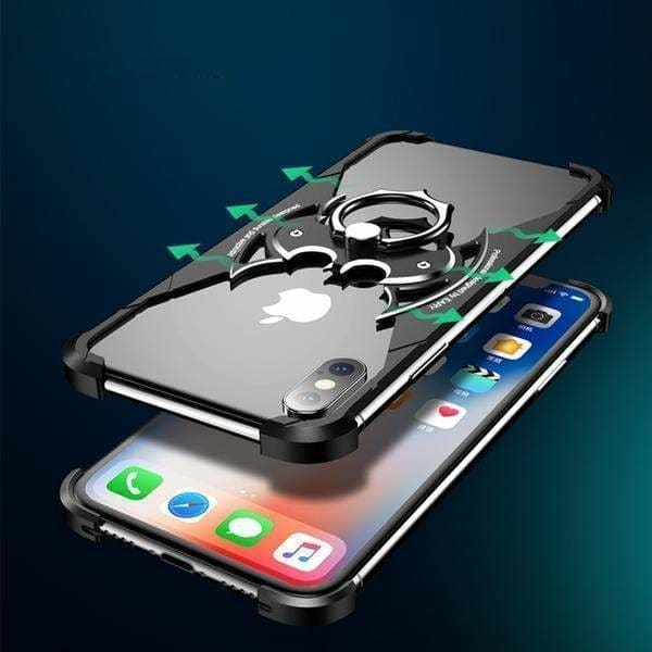 Aerospace Standard Aluminium Metal Frame Ring holder XS MAX CASE - AshleySale