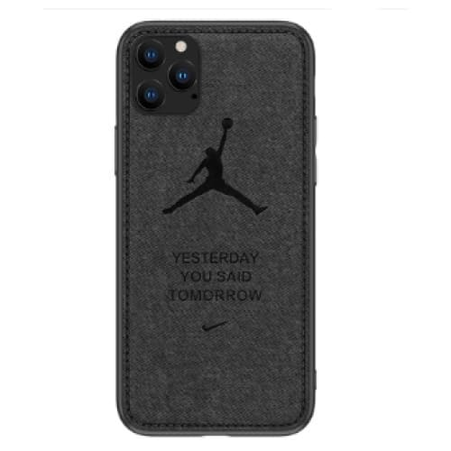 AIR JORDAN SOFT CLOTH SHOCKPROOF DESIGNER IPHONE CASE FOR