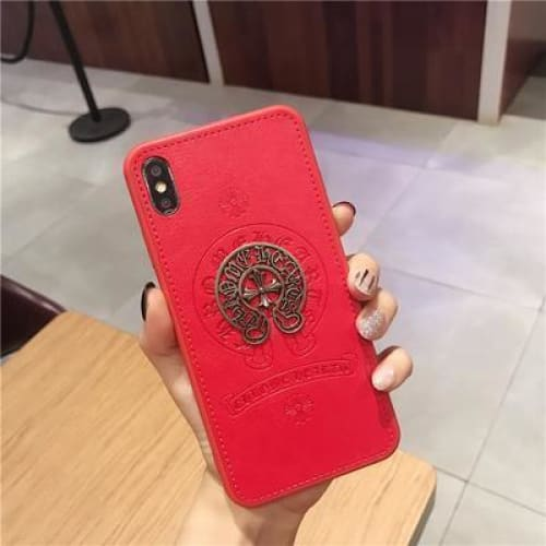 Best Luxury Style Crowe Heart Retro Designer iPhone Case For Iphone 11 Pro Max X XS XS MAX XR 7 8 Plus - AshleySale