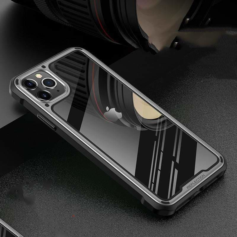 BUMPER FRAME TEMPERED GLASS DESIGNER IPHONE CASE FOR IPHONE