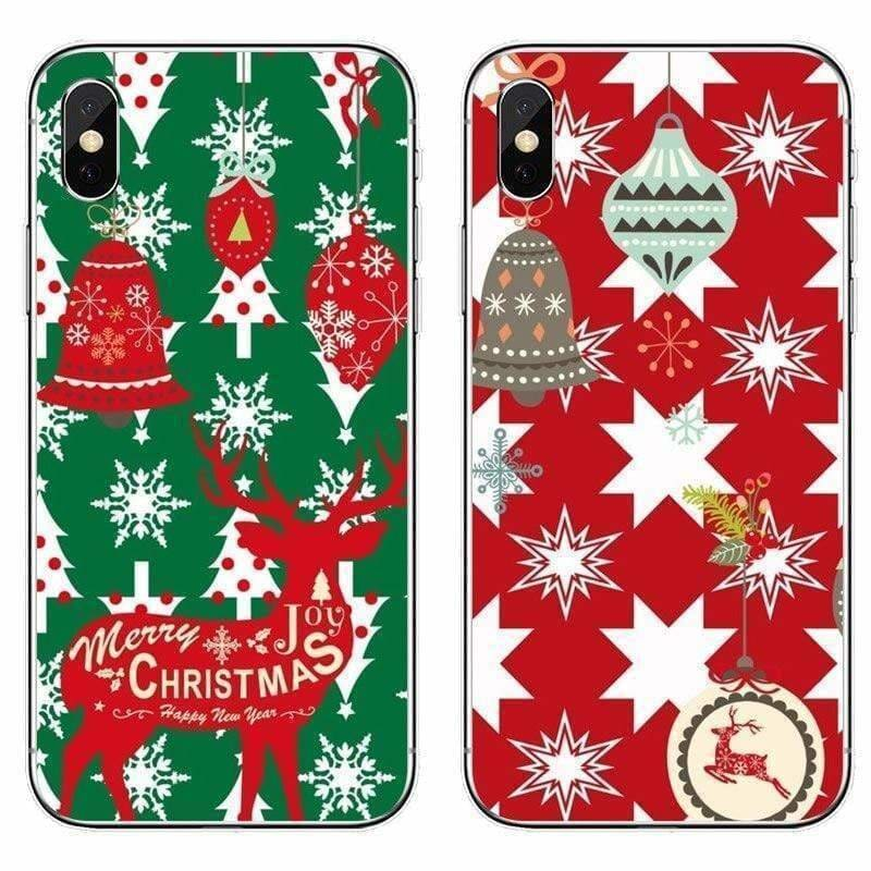 CHRISTMAS GIFT SOFT PHONE CASE FOR IPHONE 12 MAX 12 PRO SOFT