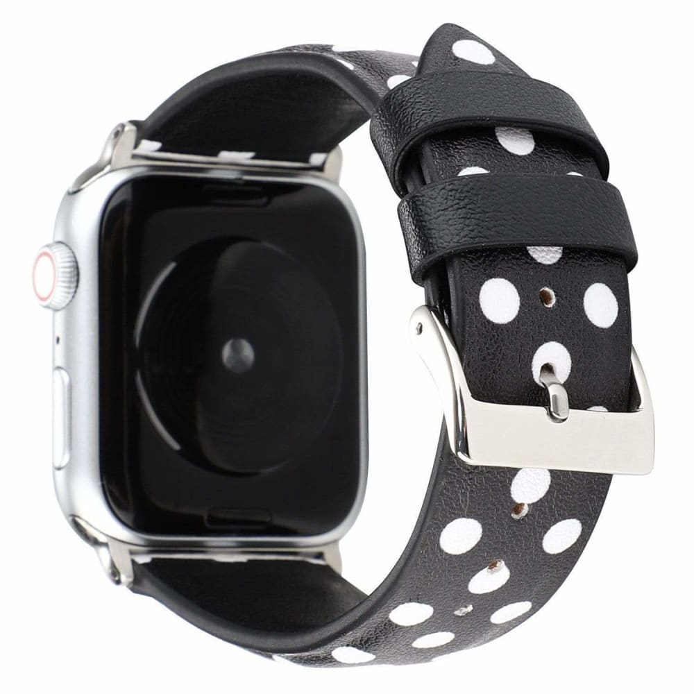 Comme Des Garcons CDG Style Leather Apple Watch Bands Strap - AshleySale