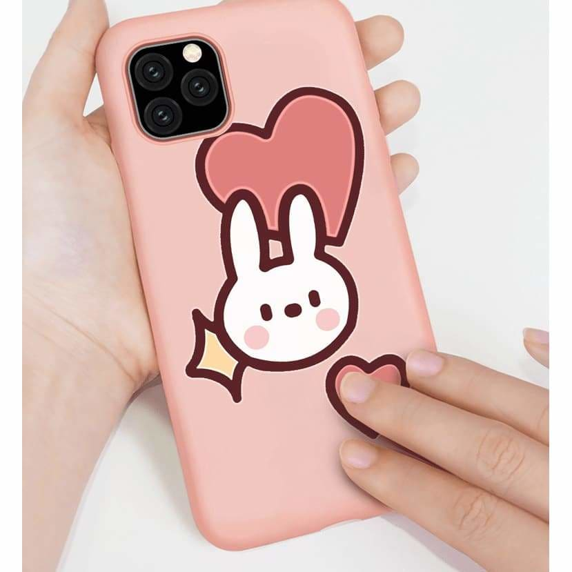 CUTE BUNNY SILICONE SHOCKPROOF DESIGNER IPHONE CASE FOR