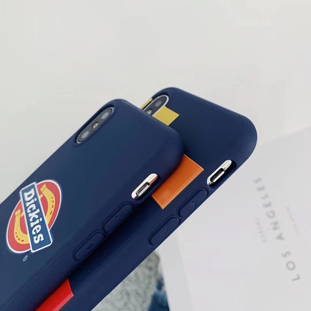 Dickies Style Street Fashion Skateboard Soft Silicone iPhone Case - AshleySale