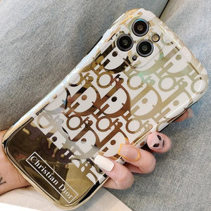 Dior Style tpu  Protective Designer Iphone Case For Iphone 12 Pro Max Mini - AshleySale