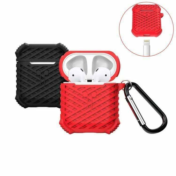 Extra Protection Silicone Designer Protective AirPods 1 & 2 Case - AshleySale