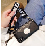 Fashion Gucci Style Diagonal Cross Coin Purse Designer iPhone Case For Iphone 11 Pro Max X XS XS MAX XR 7 8 Plus - AshleySale