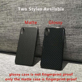 For iPhone XS Max Luxury Slim Real Carbon Fibers Armor Protection Phon - AshleySale