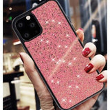 GLITTER SHINE SHOCKPROOF SILICONE DESIGNER IPHONE CASE FOR