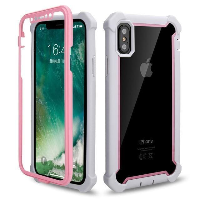 Heavy Duty 360 Full Protection Shockproof Doom armor PC+Soft TPU Phone - AshleySale