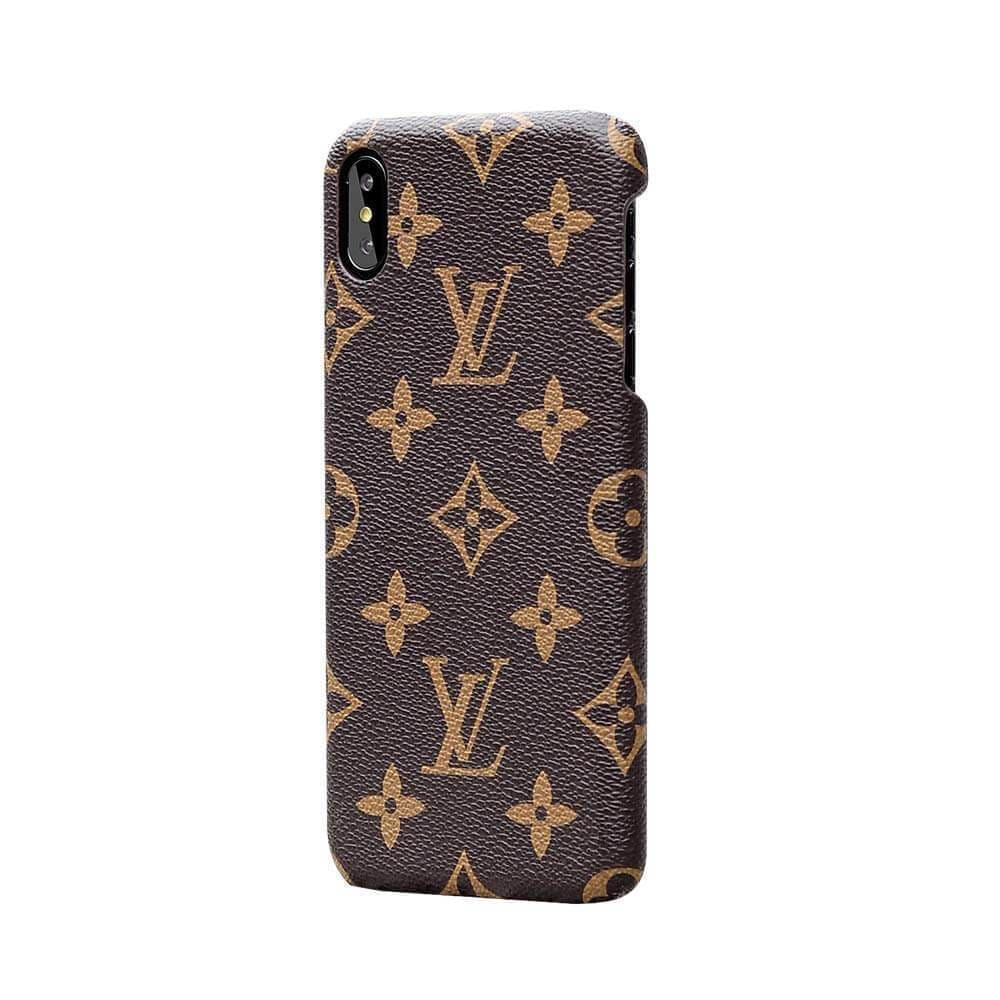 LOUIS VUITTON IPHONE CASE BROWN 12 PRO MAX MINI LUXURY COVER