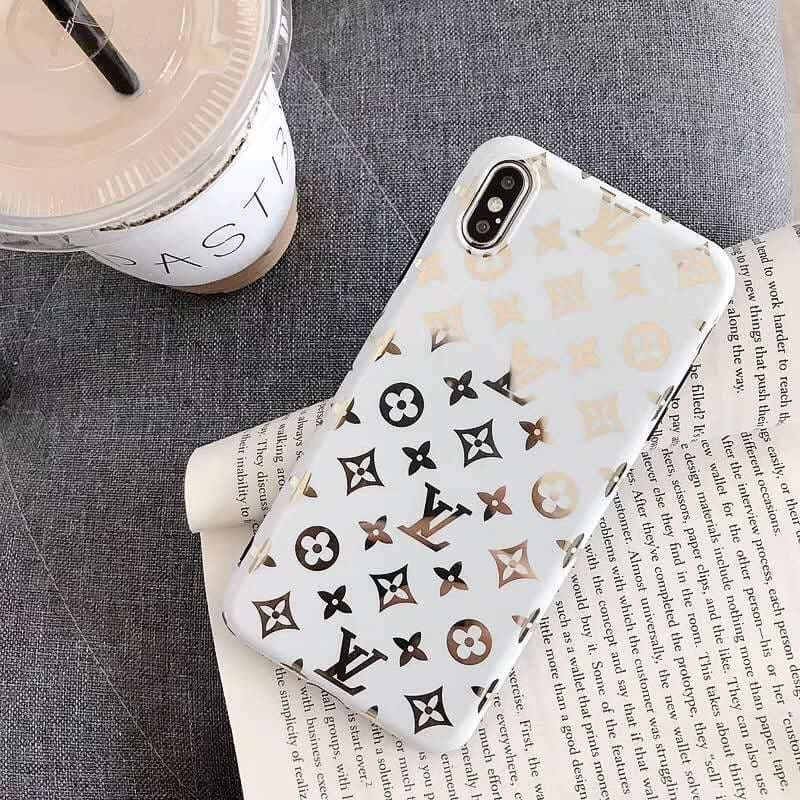 Louis Vuitton Style Monogram Electroplating Glossy TPU Silicone Designer iPhone Case For iPhone 11 Pro Max X XS XS Max XR 7 8 Plus - AshleySale