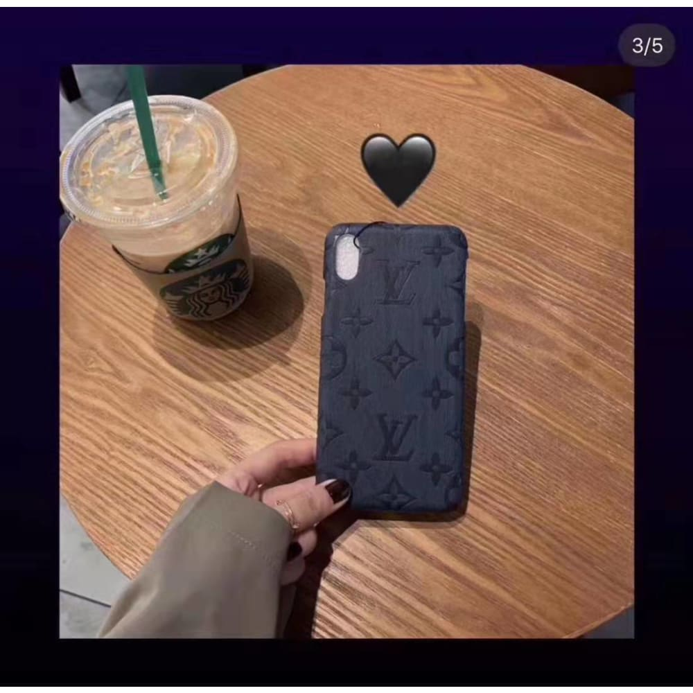 Louis Vuitton Style Wooden Designer iPhone Case For iPhone 11 Pro Max X XS XS Max XR 7 8 Plus - AshleySale