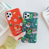 LOVEBAY CHRISTMAS ELK PHONE CASE FORIPHONE 12 PRO MAX MINI