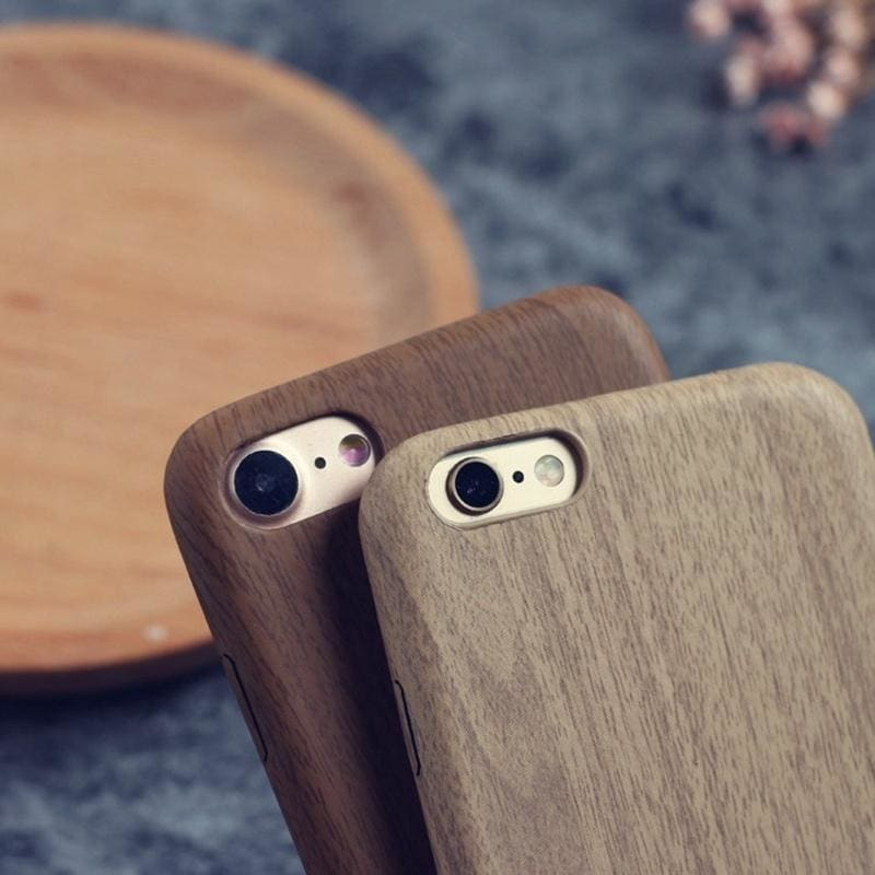 Luxury Wood Ultra Thin Matte Designer iPhone Case For iPhone X XS MAX - AshleySale
