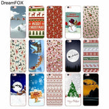 M316 CHRISTMAS SOFT TPU SILICONE CASE COVER FOR APPLE IPHONE