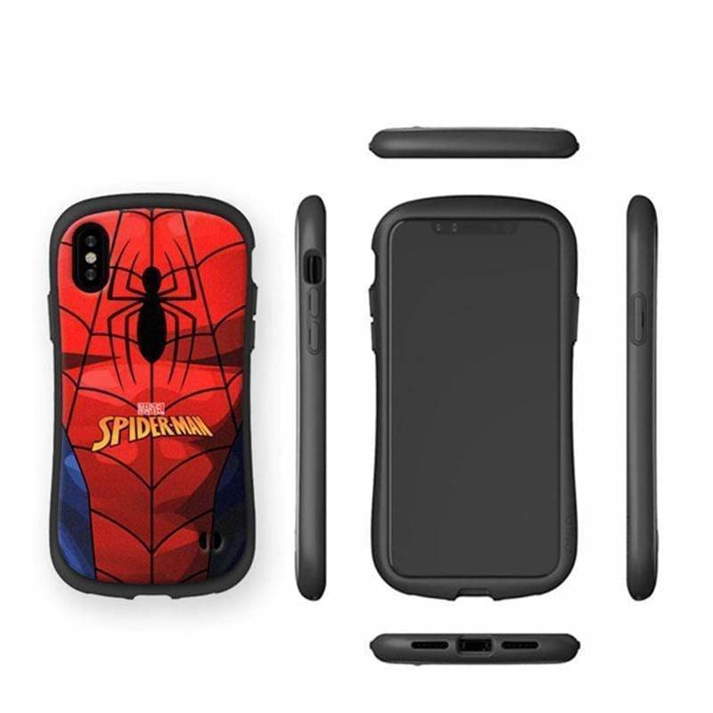 Marvel Style Spiderman Silicone Bumper Protective Designer iPhone Case - AshleySale