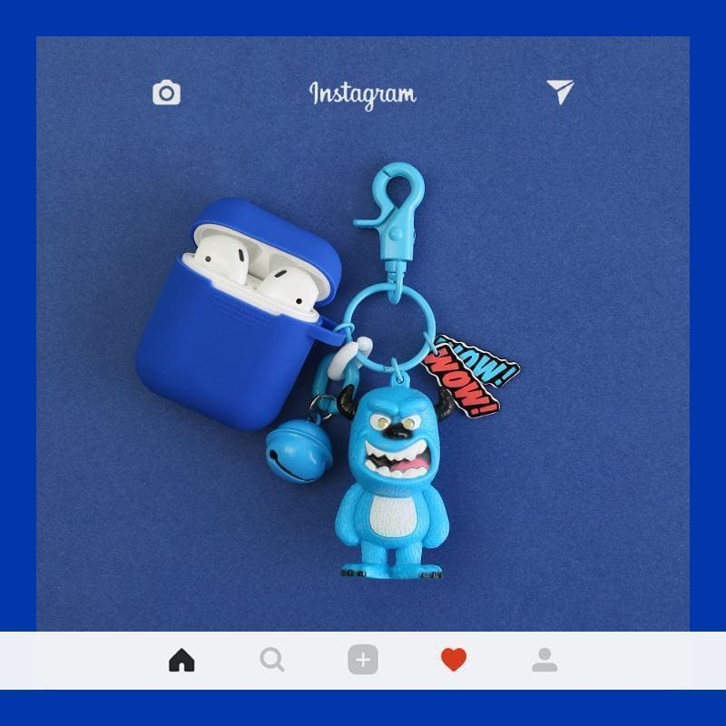 Monsters University Silicone Protective AirPods 1 & 2 Case - AshleySale