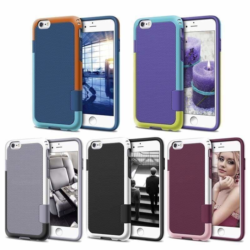 MORE COLORS Heavy Duty Hybrid Impact Shockproof Armor Silicone Bumper iPhone Case For iPhone X XS XS Max XR - AshleySale
