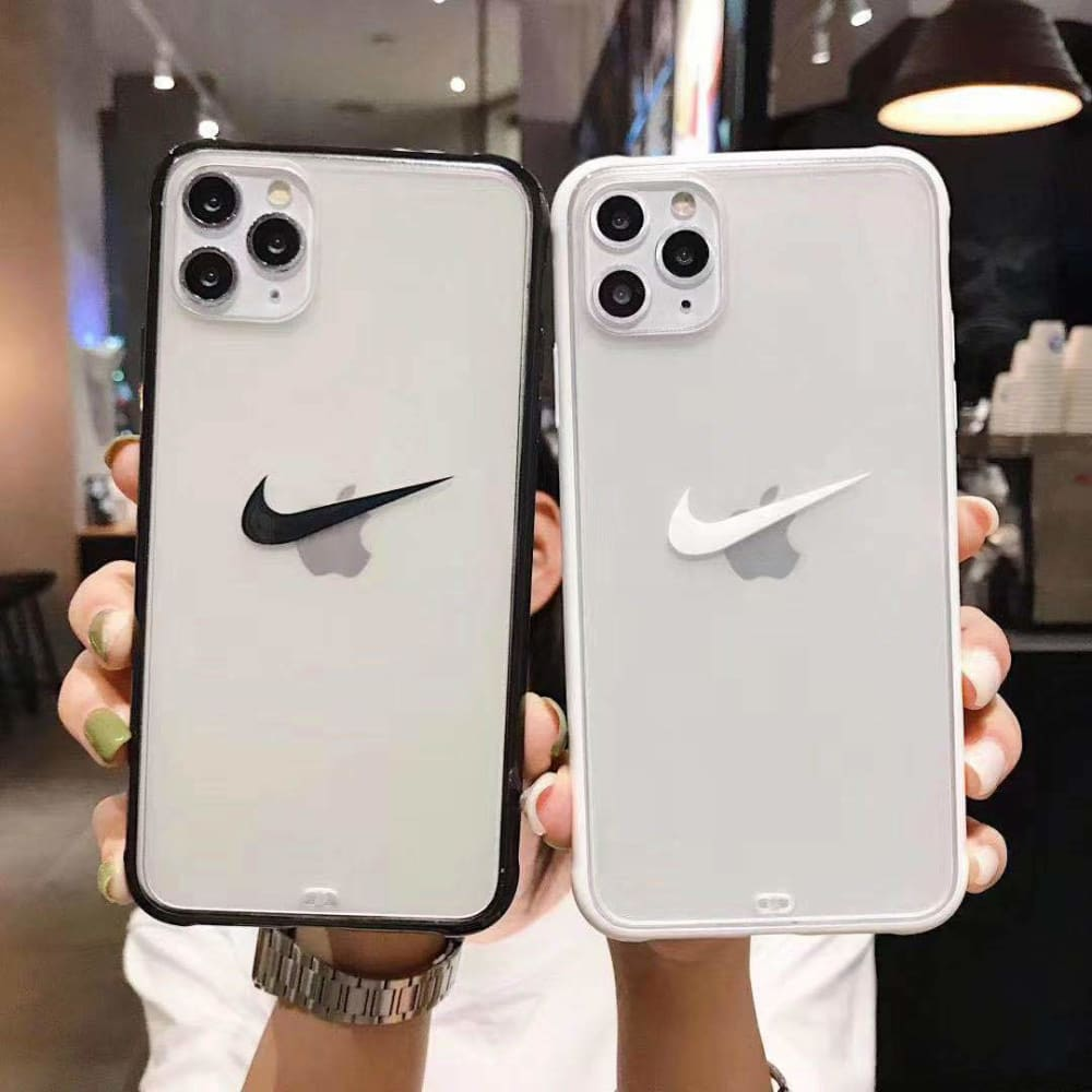 Nike Style  Acrylic  Protective Designer Iphone Case For Iphone 12 Pro Max Mini - AshleySale