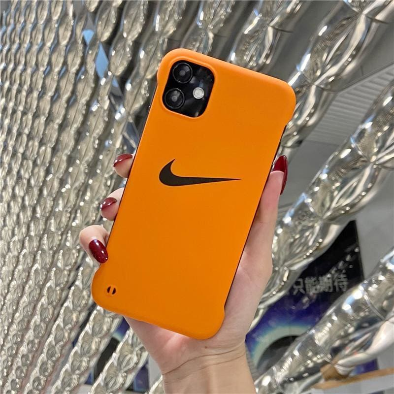 Nike Style Hard shell  Protective Designer Iphone Case For Iphone 12 Pro Max Mini - AshleySale