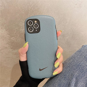 Nike Style silk  Protective Designer Iphone Case For Iphone 12 Pro Max Mini - AshleySale