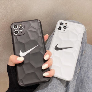 Nike Style Soft glue  Protective Designer Iphone Case For Iphone 12 Pro Max Mini - AshleySale